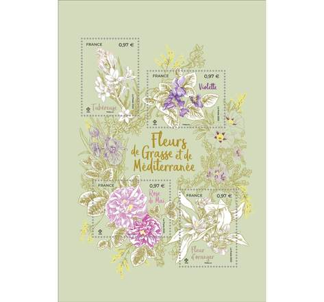 Fleurs de Grasse - Lettre Verte