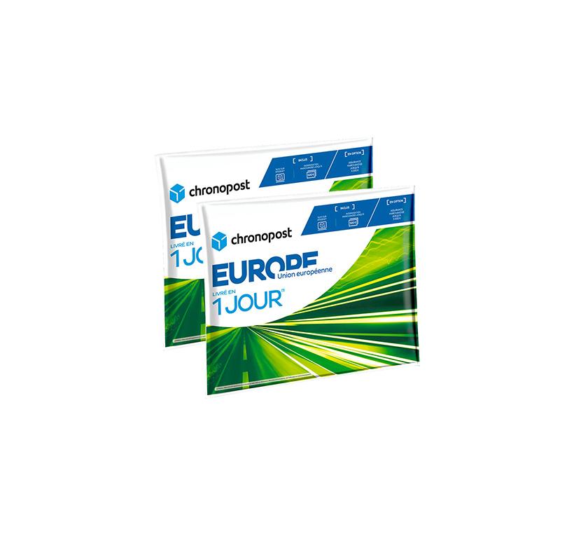 Pochette matelassée Chronopost - 1kg - Union européenne - 2019