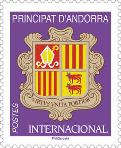 Andorre - Blason International