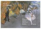Bloc - Fête du timbre - L'Etoile Edgar Degas