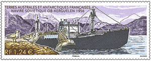 TAAF - Navire Soviétique OB