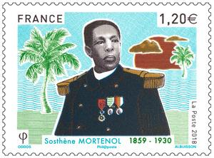 Timbre - Sosthène Mortenol (1859 - 1930)
