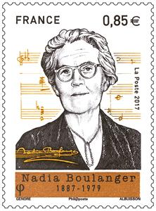 Timbre - Nadia Boulanger