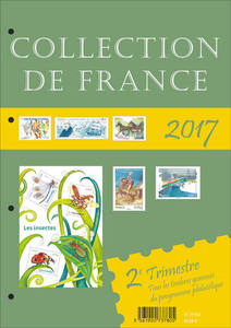 Agrandir l'image : Collection de France 2ème Trimestre 2017