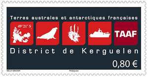 Agrandir l'image : TAAF - District de Kerguelen