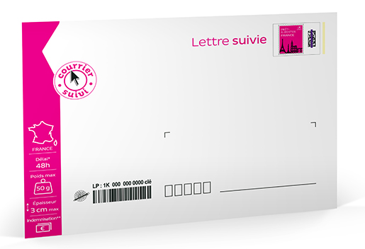 Pr t poster lettre suivie 50g enveloppe l 39 unit boutique particuliers la poste - Localiser bureau de poste ...