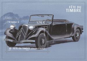 Bloc - Fête du timbre - Voitures de style