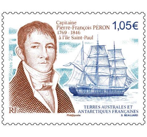 TAAF - Capitaine Pierre-François Peron à l'Ile Saint Paul