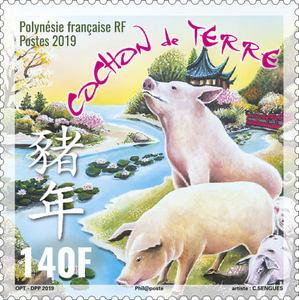 Polynésie Française - Horoscope chinois - Cochon de terre