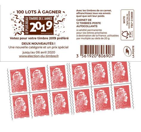 Election du timbre de l'année