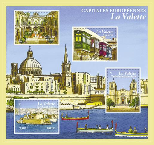 Bloc Capitales Européennes - La Valette