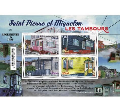 Timbre Saint Pierre et Miquelon - Les Tambours