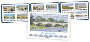 Carnet - Ponts et Viaducs - 12 timbres autocollants