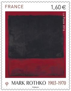France - Timbre Mark Rothko