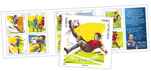 carnet football vos 10 gestes pr f r s 10 timbres autocollants boutique particuliers la. Black Bedroom Furniture Sets. Home Design Ideas