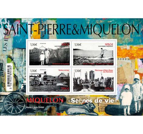 Saint-Pierre-et-Miquelon - Bloc - Scènes de vie