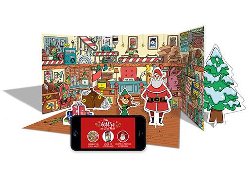 La Poste Lettre Aux Pere Noel.Kit Ma Lettre Au Pere Noel Boutique Particuliers La Poste
