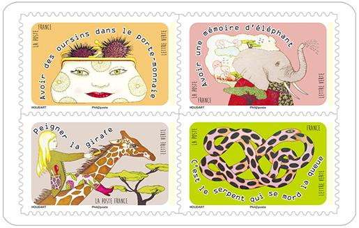 carnet etre le dindon de la farce 12 timbres autocollants boutique particuliers la poste. Black Bedroom Furniture Sets. Home Design Ideas