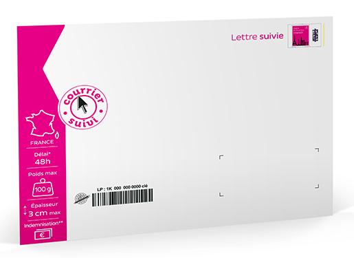 Prêt à Poster Lettre Suivie 500g Pochette Cartonnée