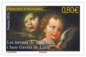 Andorre - Les ànimes de Sant Julià i Sant Germà de Lòria
