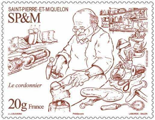 Saint Pierre et Miquelon - Le cordonnier