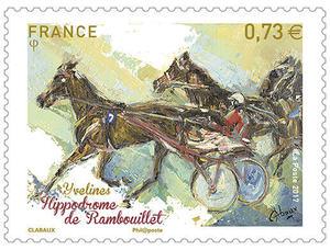 Timbre - Hippodrome de Rambouillet