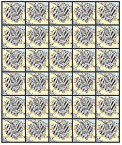 Feuille de 30 timbres Cœur - Balmain - 20g