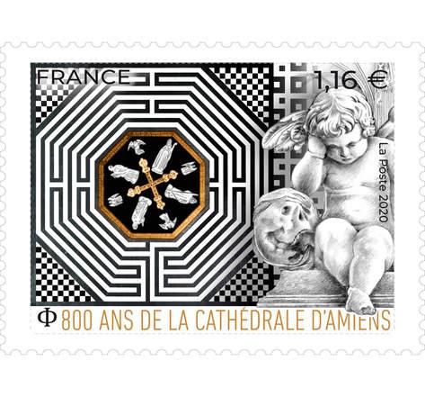 Cathédrale d'Amiens - Lettre Prioritaire
