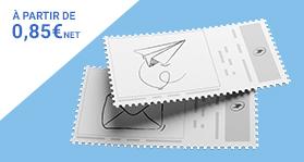 Imprimez vos timbres pour vos envois quotidiens