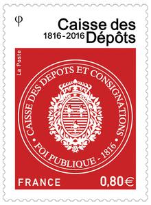 France _ Timbre - Caisse des dépots