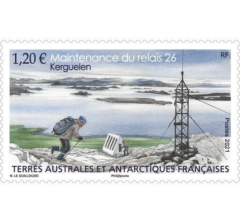 TAAF - Kerguelen Maintenance Relais 26