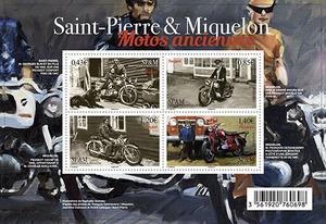 Saint-Pierre-et-Miquelon - Bloc Motos anciennes