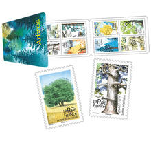 Carnet 12 timbres - Arbres - Lettre prioritaire