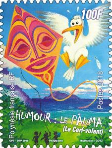 Polynésie Française - Le cerf-volant