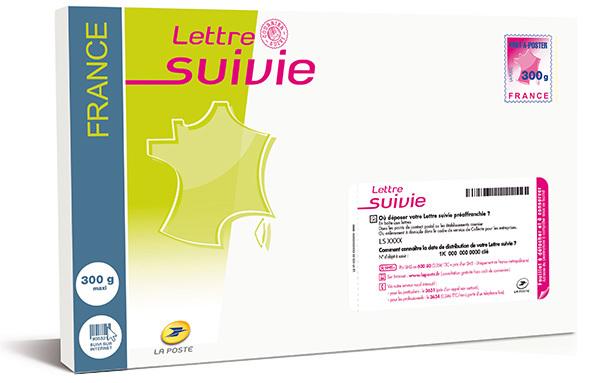 lettre suivie poste Prêt à Poster Lettre suivie 300g | Boutique Particuliers La Poste lettre suivie poste