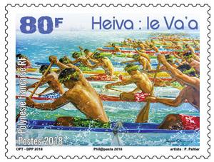 Polynésie Française - Le Va'a
