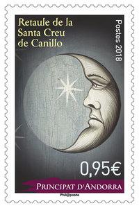 Andorre - Retaule de la Santa Creu de Canillo