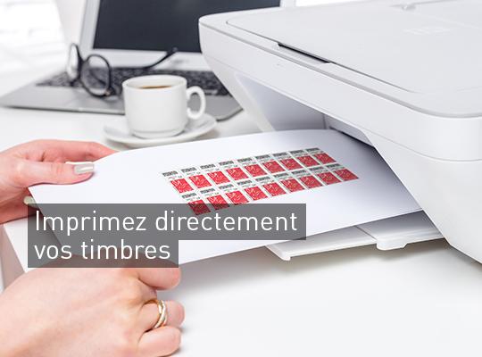 Achetez Et Imprimez Vos Timbres En Quelques Clics