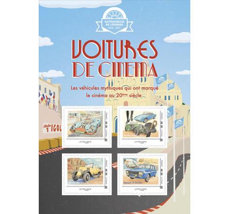 Voitures de cinéma - Angoulême - Lettre Verte