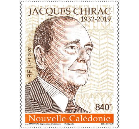 Nouvelle Calédonie - Jacques Chirac 1932-2019