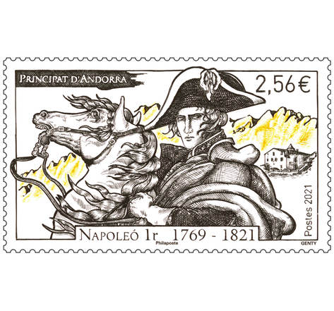 Timbre Andorre - Napoleo 1r