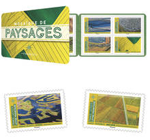 Carnet 12 timbres - Paysages - Lettre prioritaire
