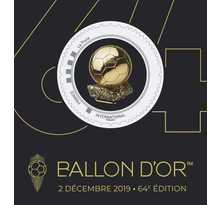 Collector 1 timbre - Ballon d'Or - Lettre Prioritaire
