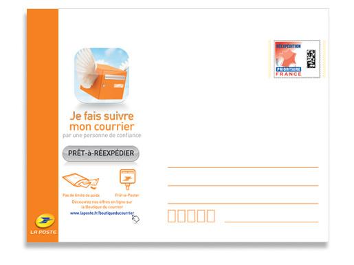 Enveloppe De Reexpedition Petit Format Boutique Particuliers La Poste