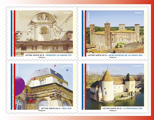 carnet mairies de france 12 timbres autocollants boutique particuliers la poste. Black Bedroom Furniture Sets. Home Design Ideas