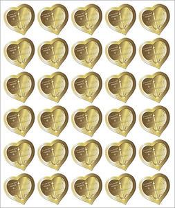 Feuille de 30 timbres Coeur - Boucheron - 100g