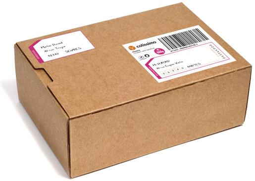 da06bbe22ce01b Carnet de 3 étiquettes prépayées Colissimo 1kg