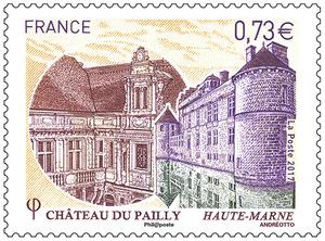 Timbre - Chäteau du Pailly