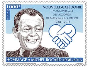 Nouvelle Calédonie - Hommage à Michel Rocard