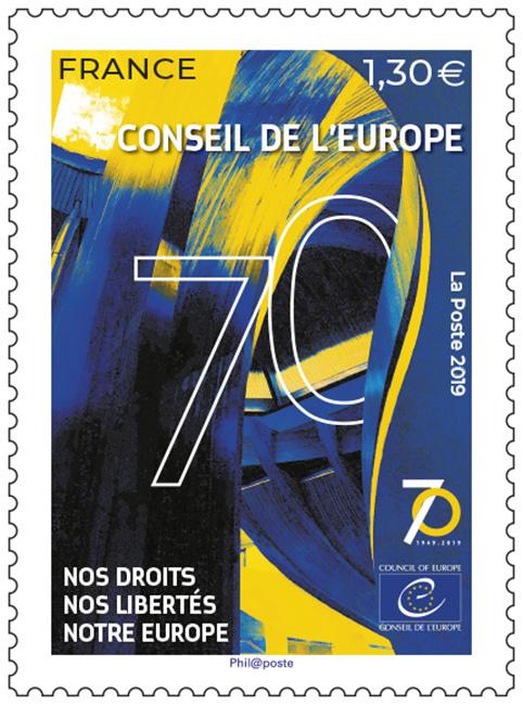 Timbre - Conseil de l'Europe